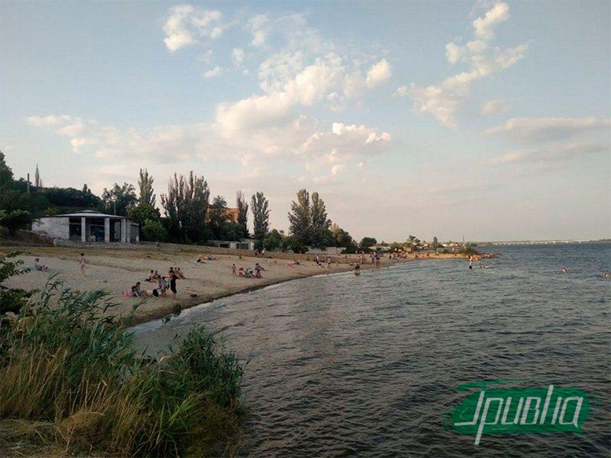 Херсон, городская власть, пляж «Лилея»