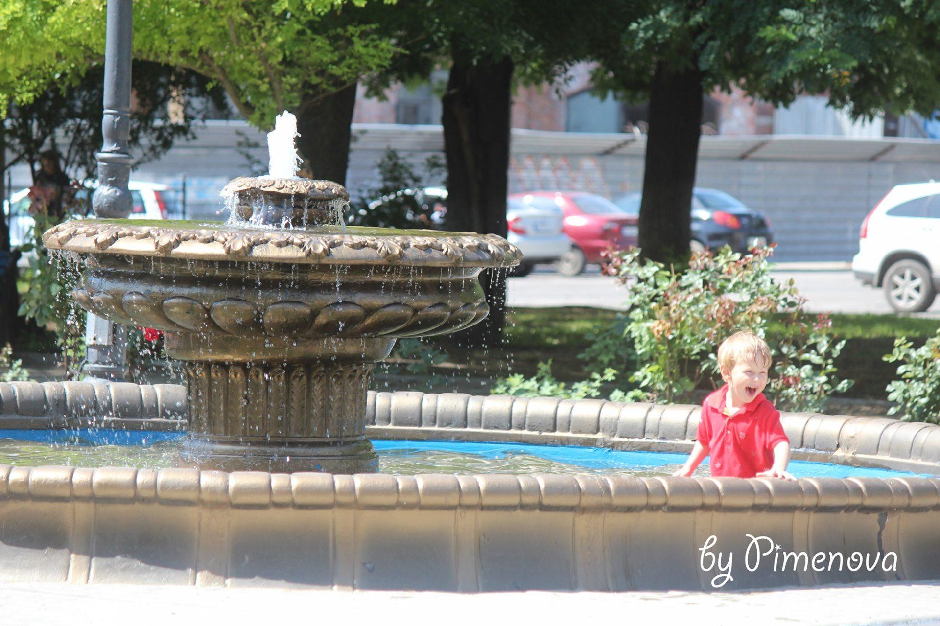 Херсон, фонтан, Пименова