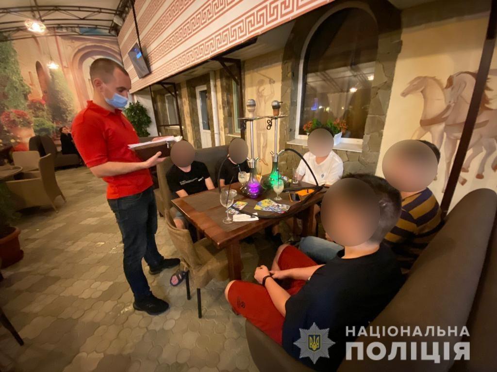 Скадовськ, нічний рейд, поліція