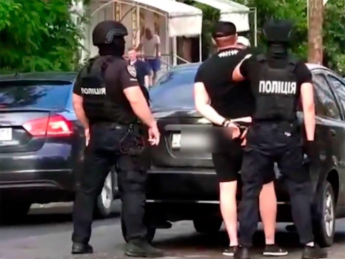 Херсонщина, відео, поліція