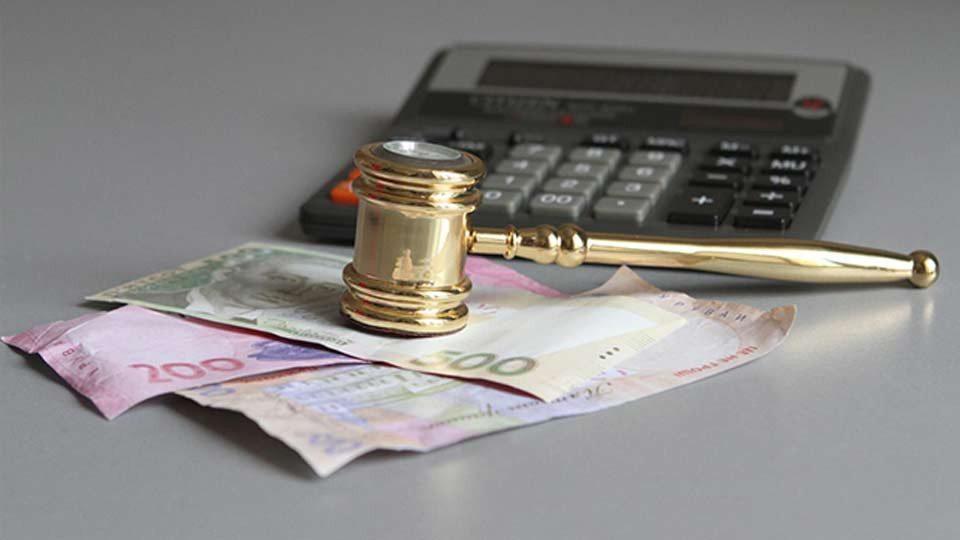суди, півмільярда, доходи