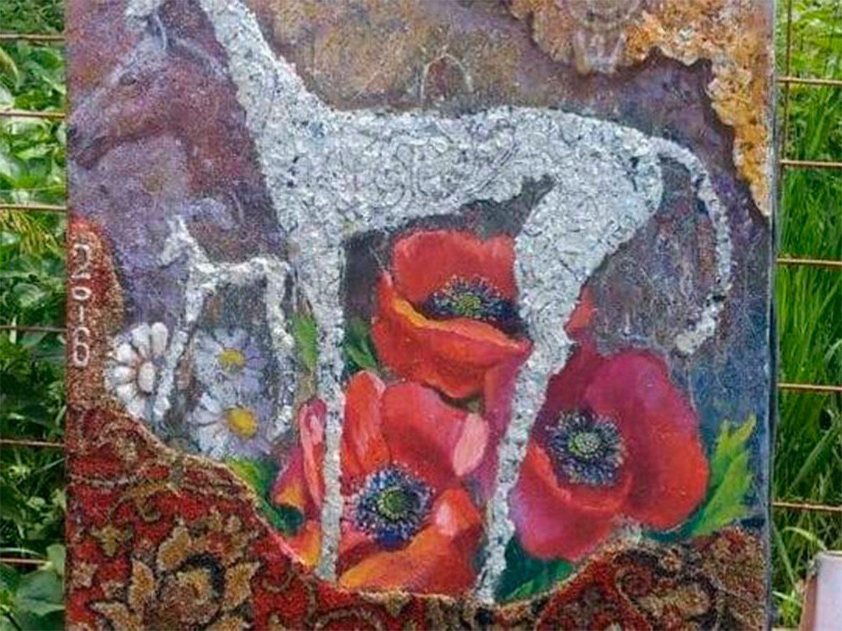 Херсонщина, наскельні малюнки, Захарченко