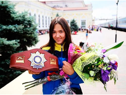 Антонина Кулагина: Мне нравится заниматься борьбой, характер у меня такой