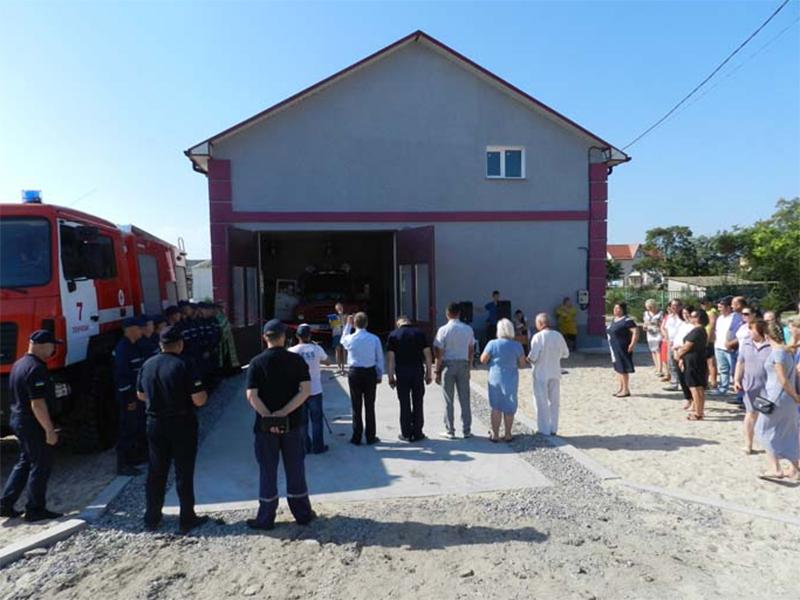 На Арабатці з'явився пожежно-рятувальний пост