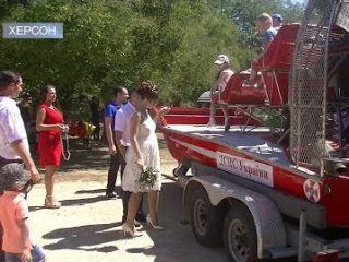 Херсонські рятувальники - дітям