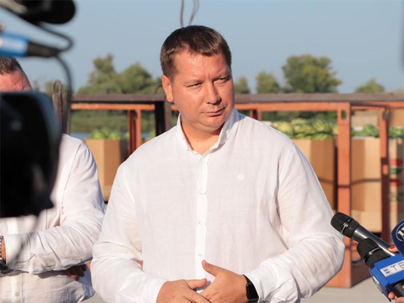 Андрій Гордєєв: Дніпро - це суднохідна артерія України і її потрібно розвивати