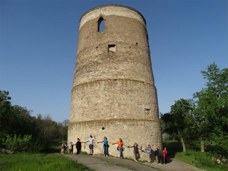 Вежу Вітовта на Херсонщині охоронятиме закон