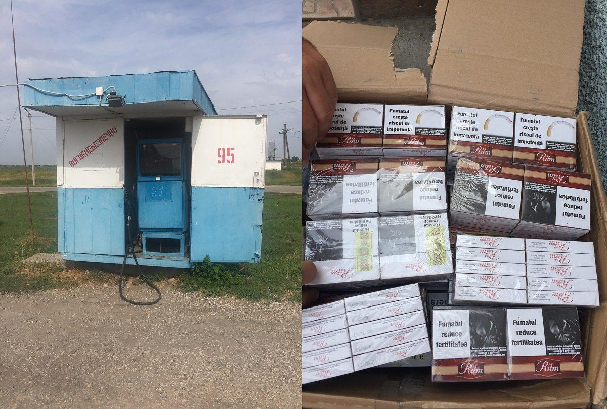 """На херсонській АЗС операція """"Акциз"""" зупинила  реалізацію контрабандних цигарок  (фото)"""
