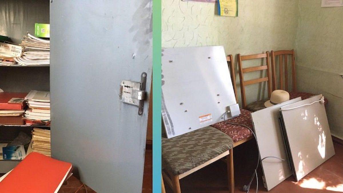 В Скадовске Херсонской области ограбили Центр детского и юношеского творчества
