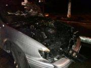 """В Херсоне сегодня ночью на Острове горел автомобиль """"Форд"""""""