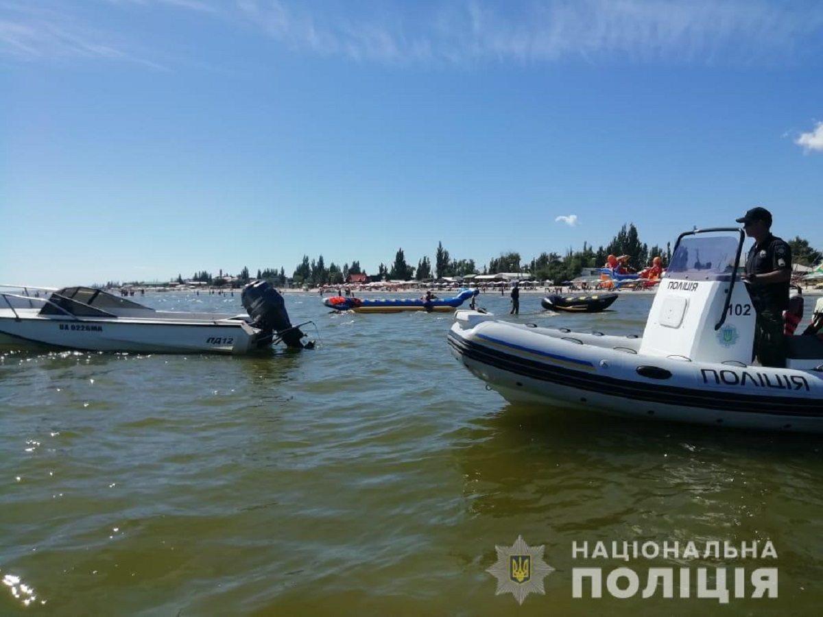 На Азовском море предприниматели использовали плавсредства незаконно