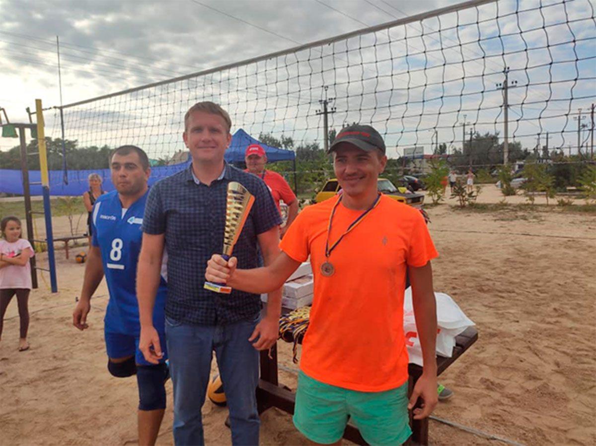 У Генічеському районі відбувся волейбольний турнір