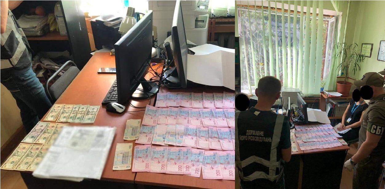 В Херсоне на взятке задержали сотрудницу миграционной службы
