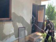 Неизвестные подожгли дом в пригороде Херсона