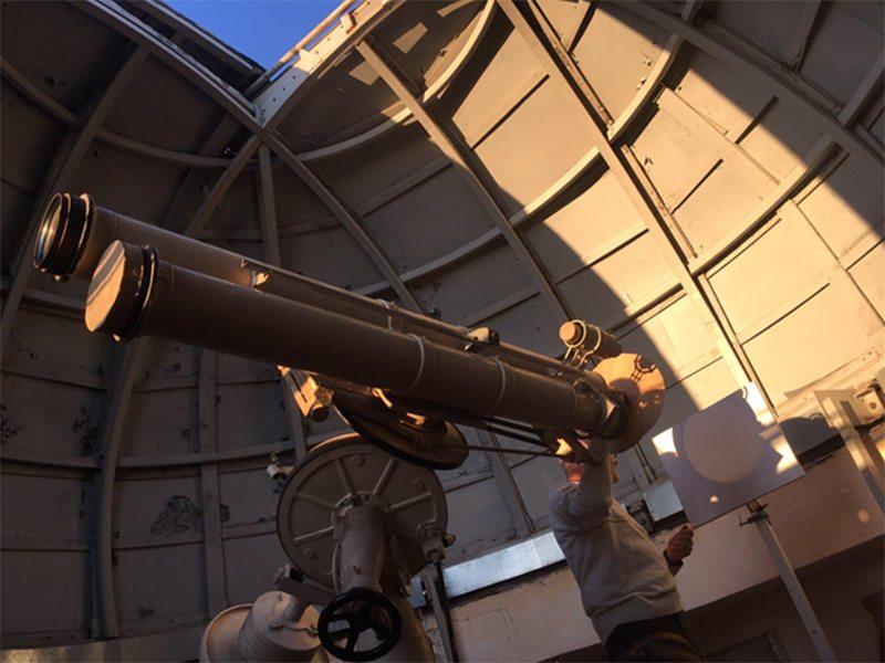 Єдина на Херсонщині астрономічна обсерваторія функціонує в ХДУ