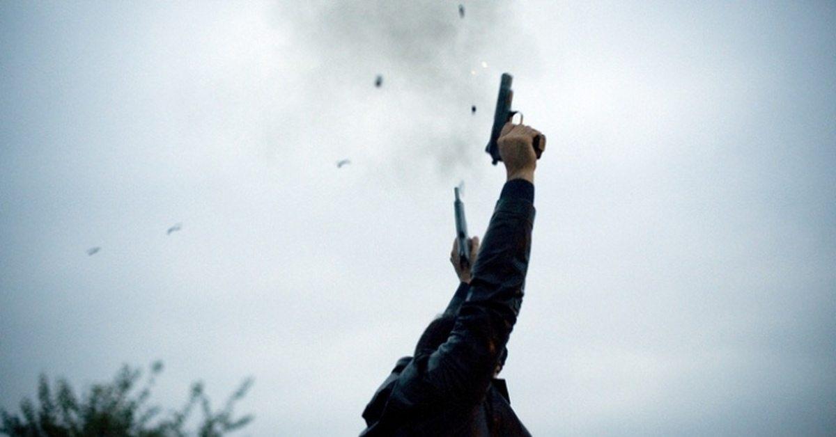 театр, стрельба, оружие, траввматическое