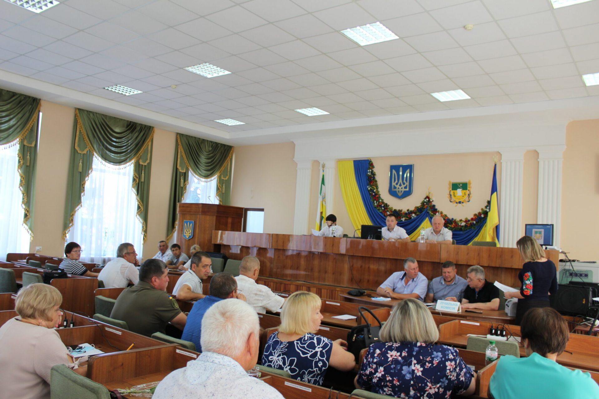 Депутати Олешківської районної ради прийняли доленоснi рiшення