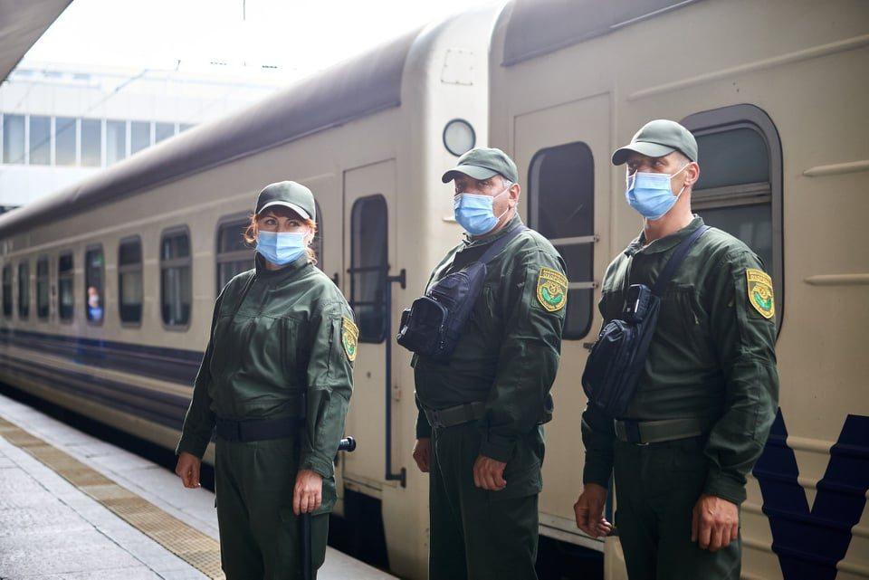 потяг, охорона, вокзал