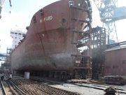 На Херсонской верфи SMG ремонтируют сухогруз