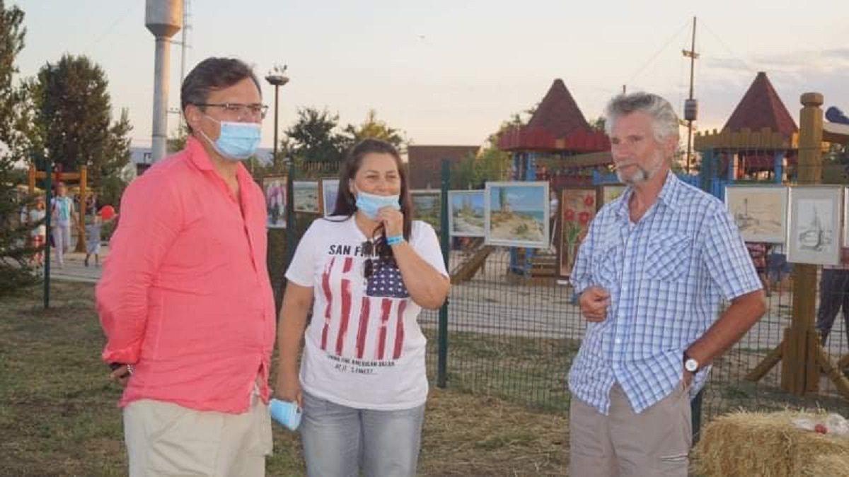 Глава МИД Дмитрий Кулеба посетил Херсонщину с частным визитом