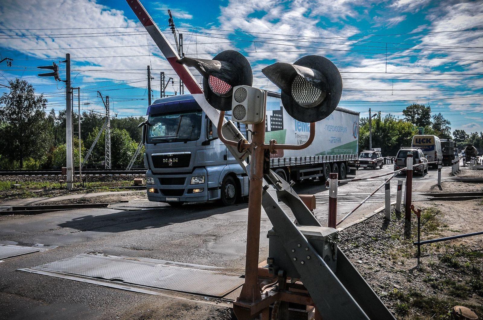 дтп, переезд, железнодорожный