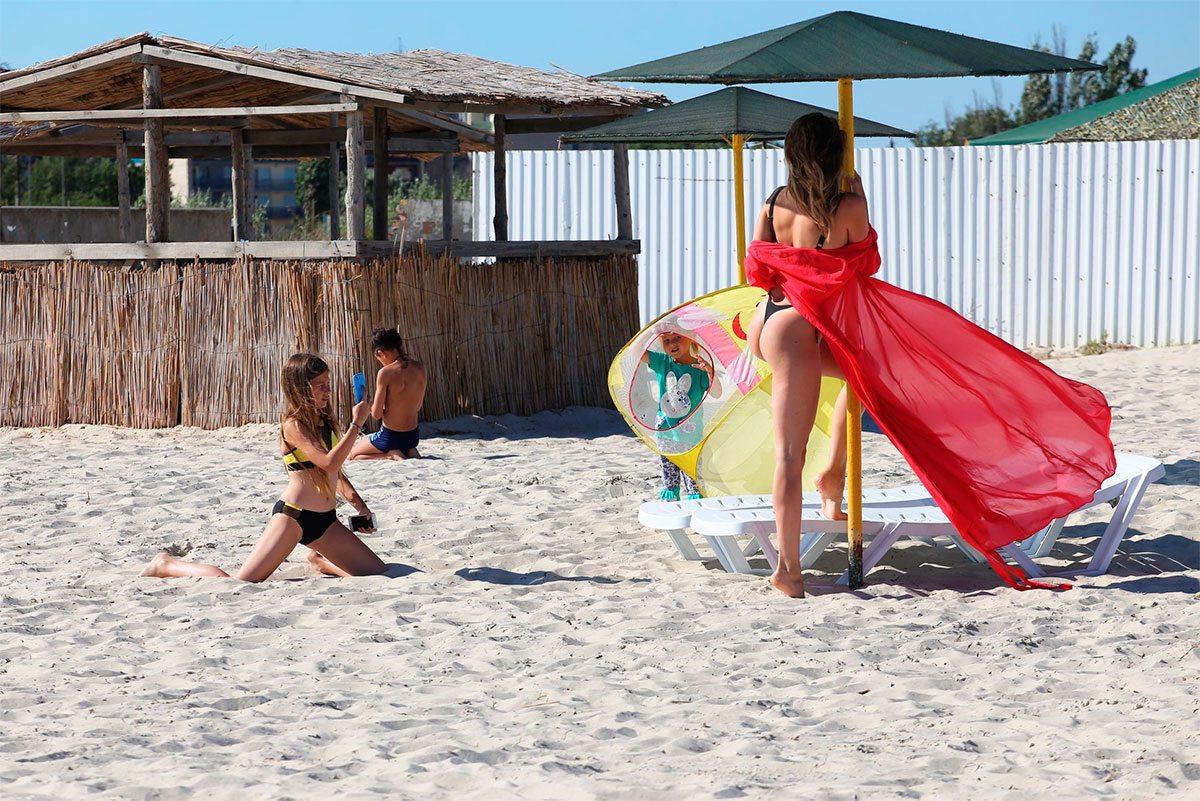 Пляжная фотосессия на Херсонщине