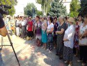 У селищі Новотроїцькому на Херсонщині відбулася стихійна акція протесту