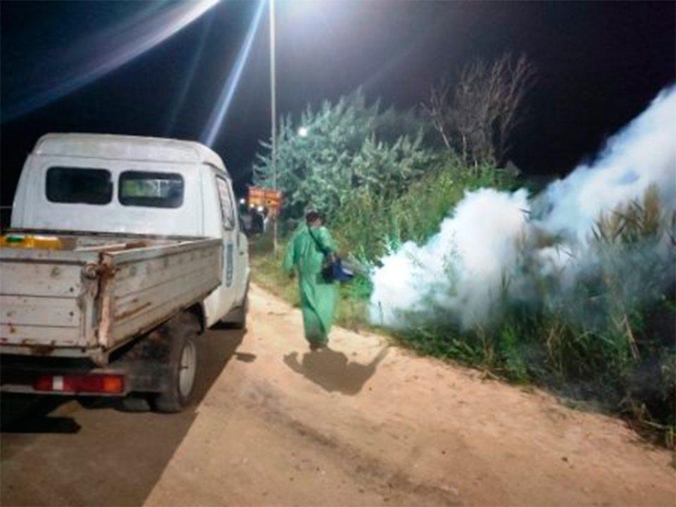 Генічеськ, комарі, знищення