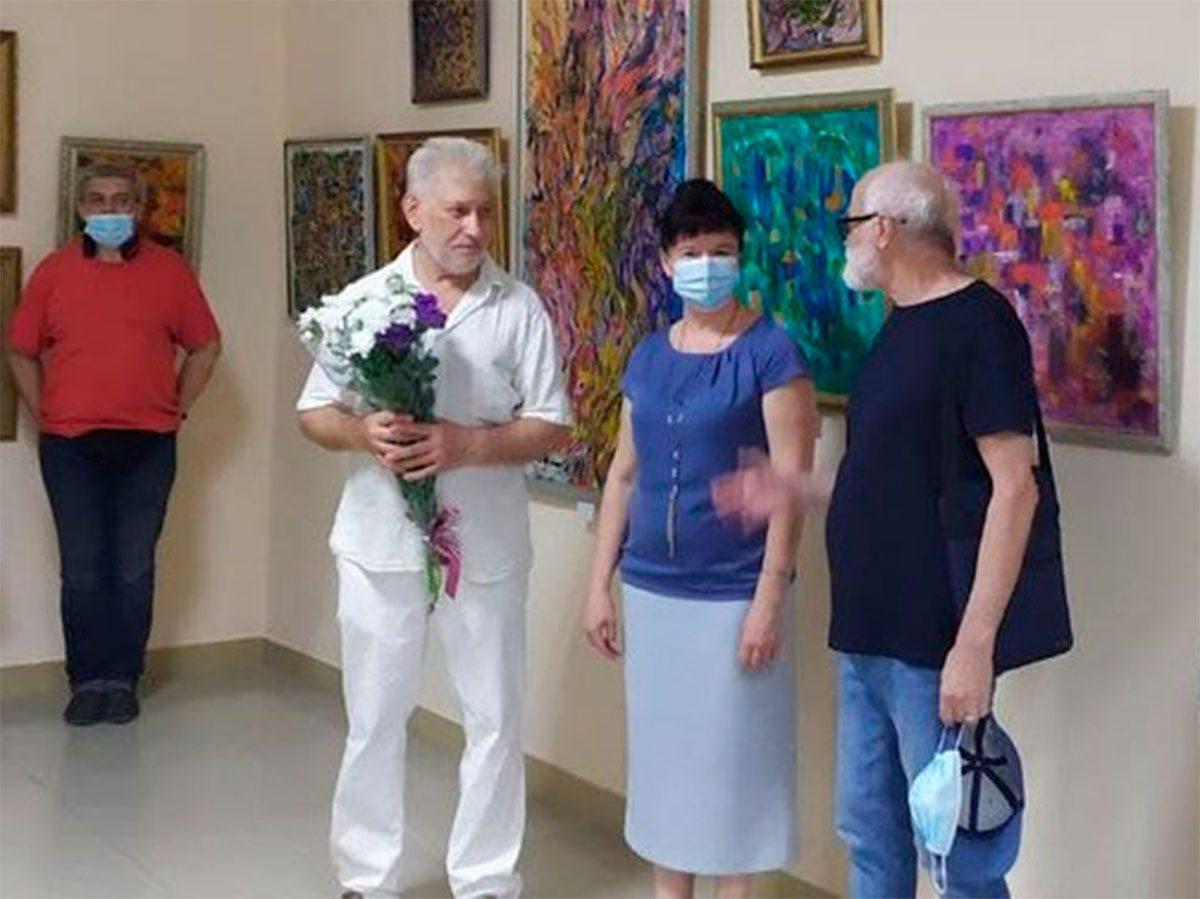 Херсон, онкодіспансер, виставка