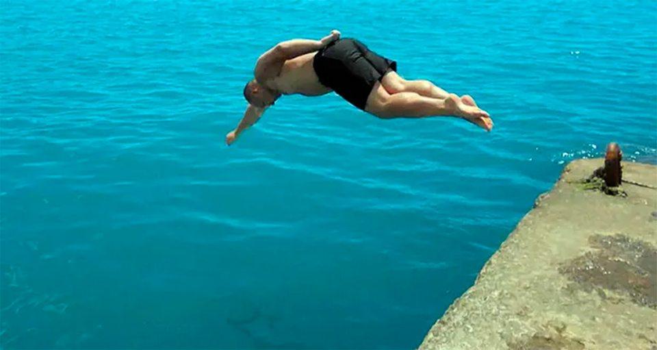 калечаться, ныряльщики, море