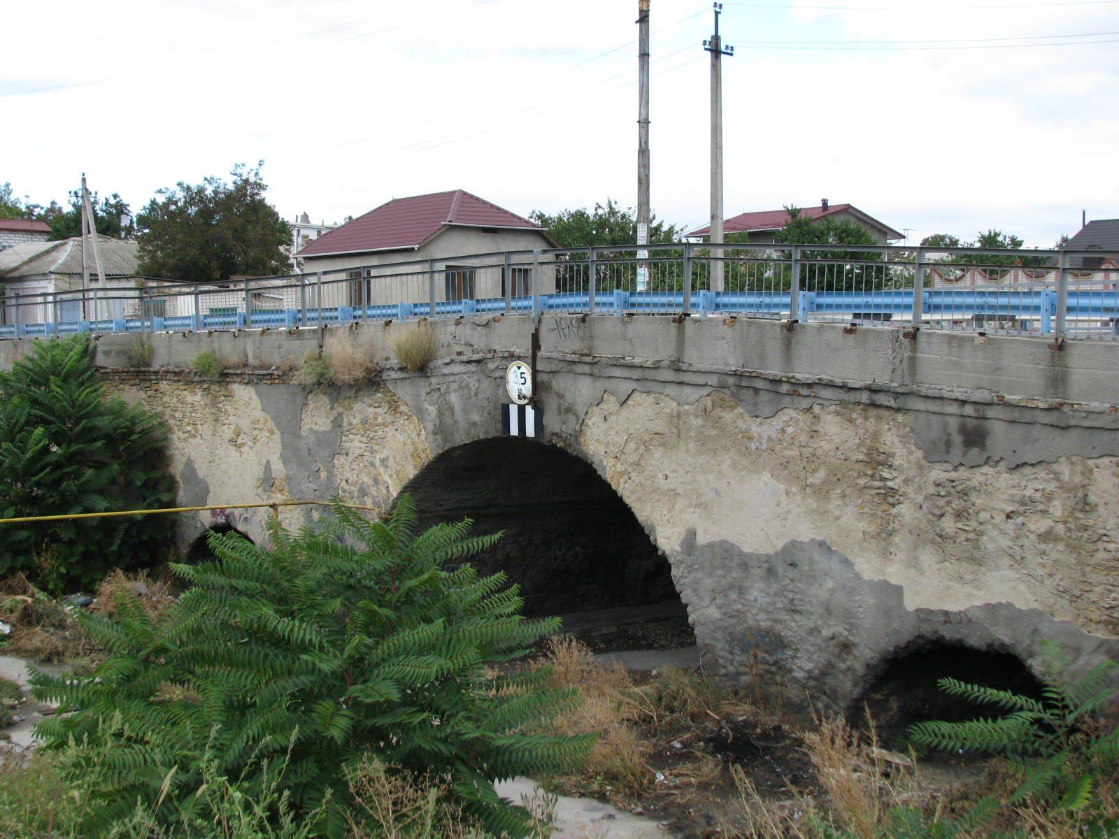 Херсон, мост, вандализм
