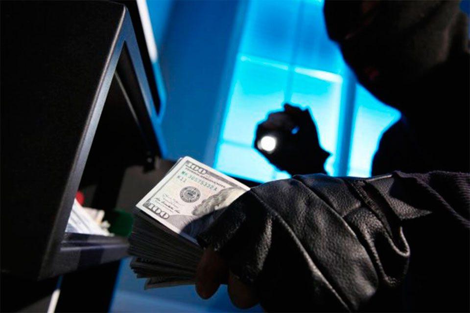 Херсон, кража, доллары