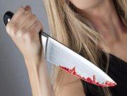 На Херсонщине дочь  пыталась зарезать родную мать