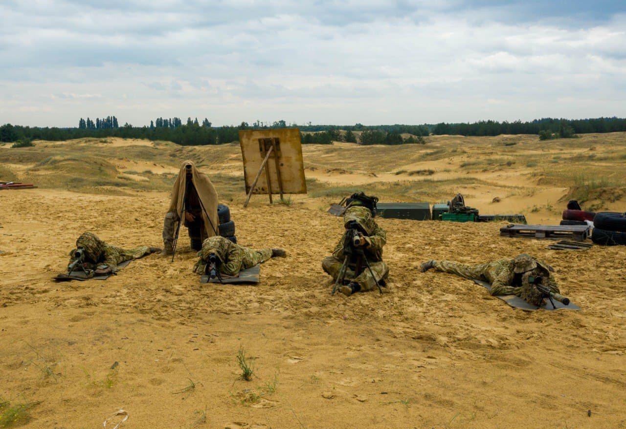 заняття, снайпери, підготовка