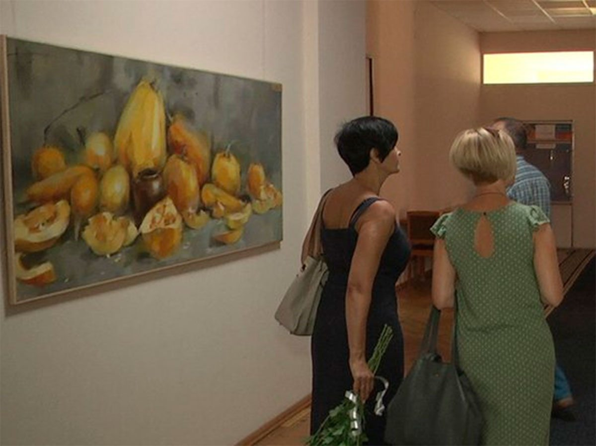 Херсон, відкриття, виставка