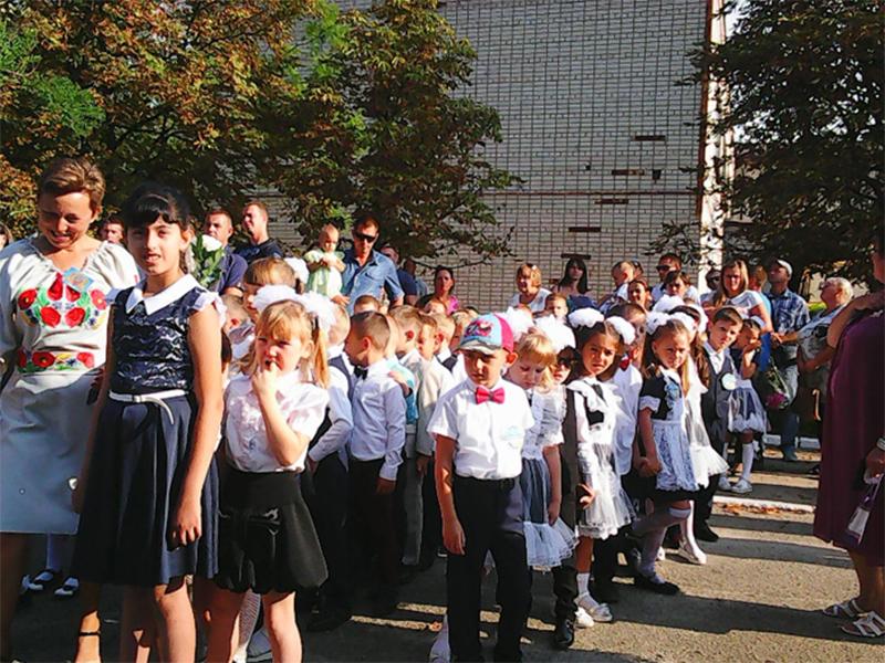 День знань в Олешківському районі Херсонщини