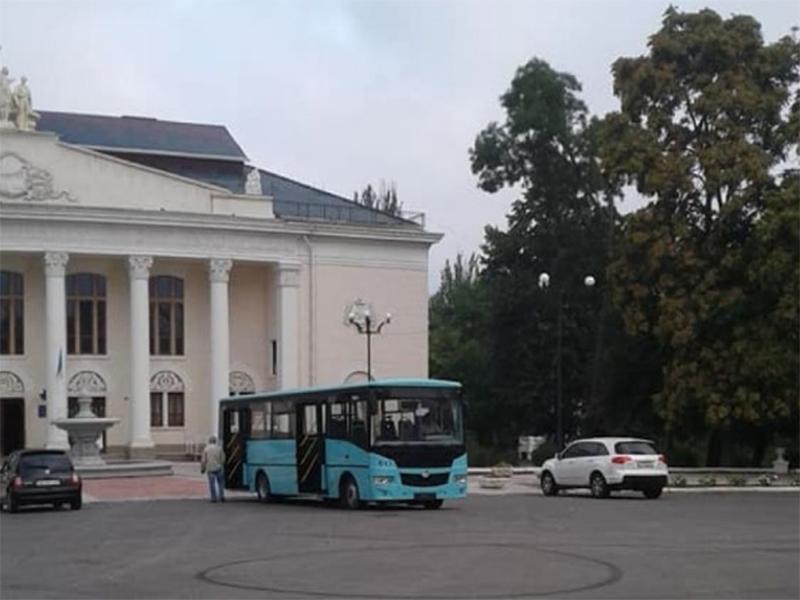 В Новой Каховке на маршрут выпустят комфортабельный автобус