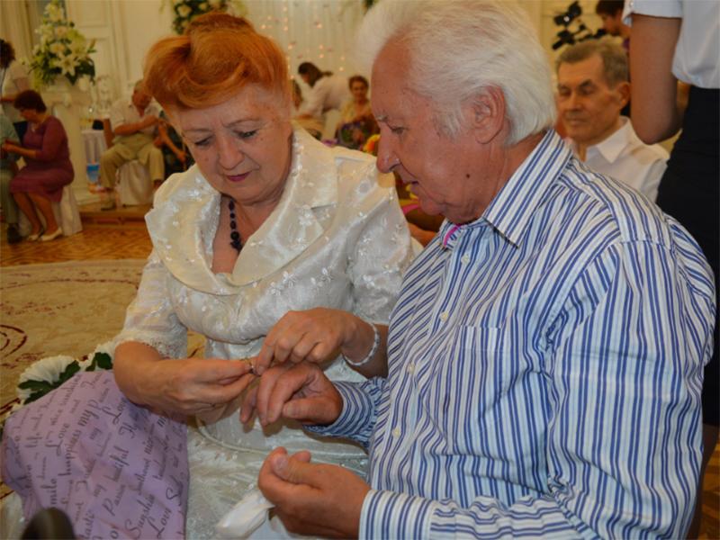 У Херсоні відзначили «золоті весілля»