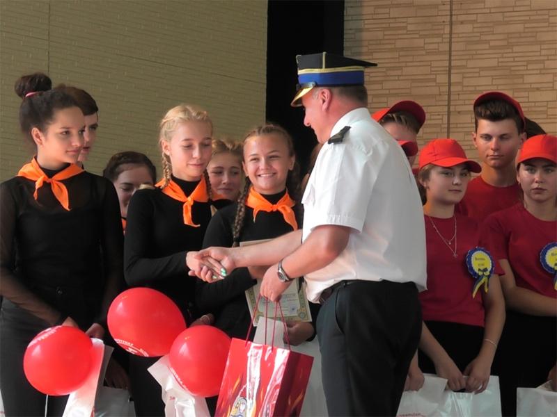 Херсонські школярі здобули перемогу на обласному етапі фестивалю юних пожежних