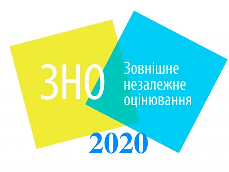 ЗНО-2020. Оприлюднено графік тестування