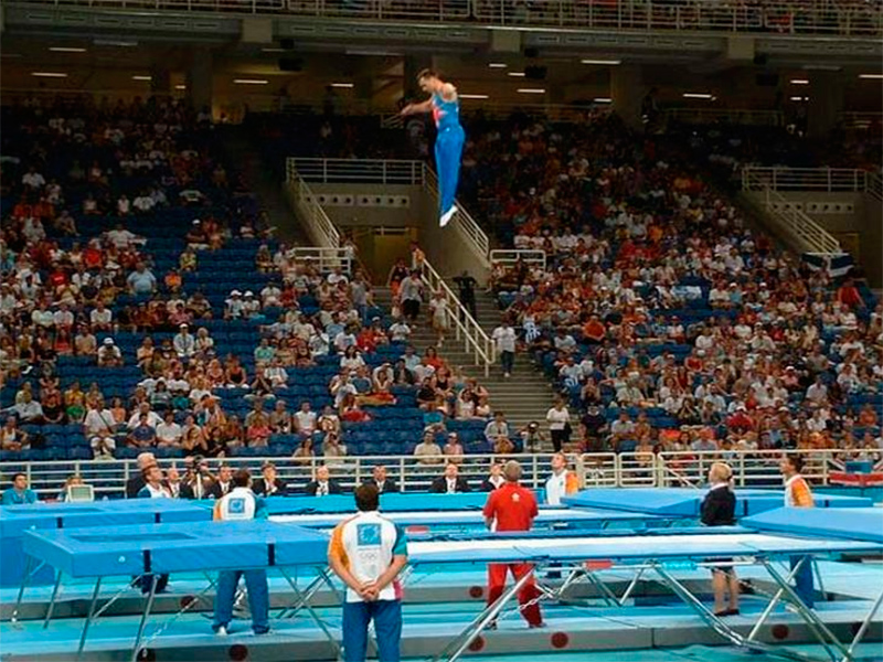 Херсонець став абсолютним чемпіоном України зі стрибків на батуті