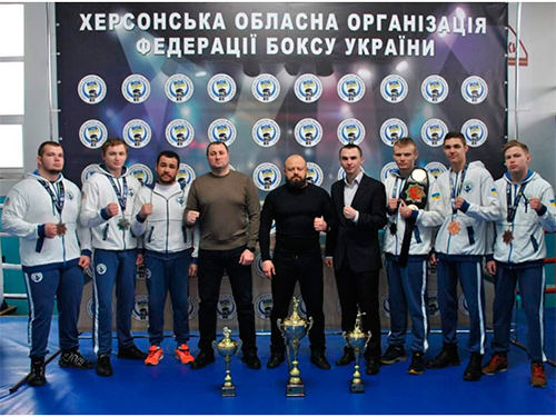 Виталий Выбранский: С момента своего появления, бокс пришелся херсонцам по душе