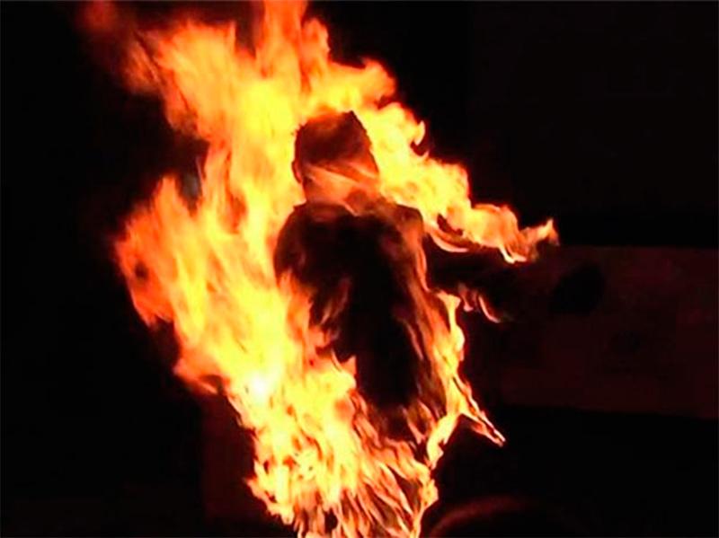 Акт самосожжения под Херсоном