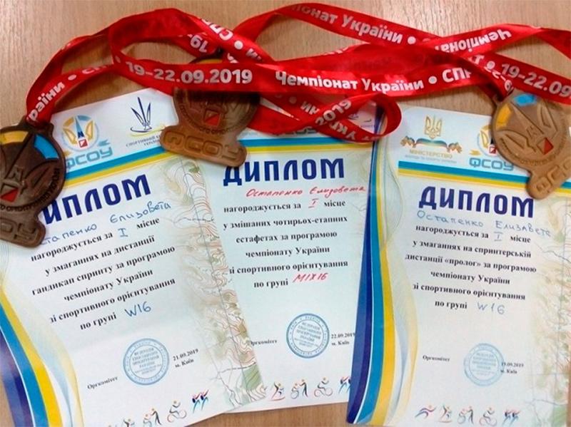 Тріумф херсонських орієнтувальників на чемпіонаті України