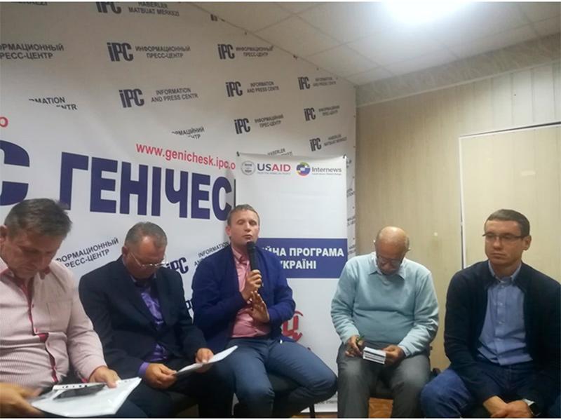 Андрій Євстратов про децентралізацію у Генічеському районі