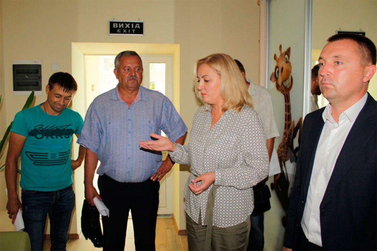 Представники Олешківської райради відвідали відремонтований  інклюзивно-ресурсний центр