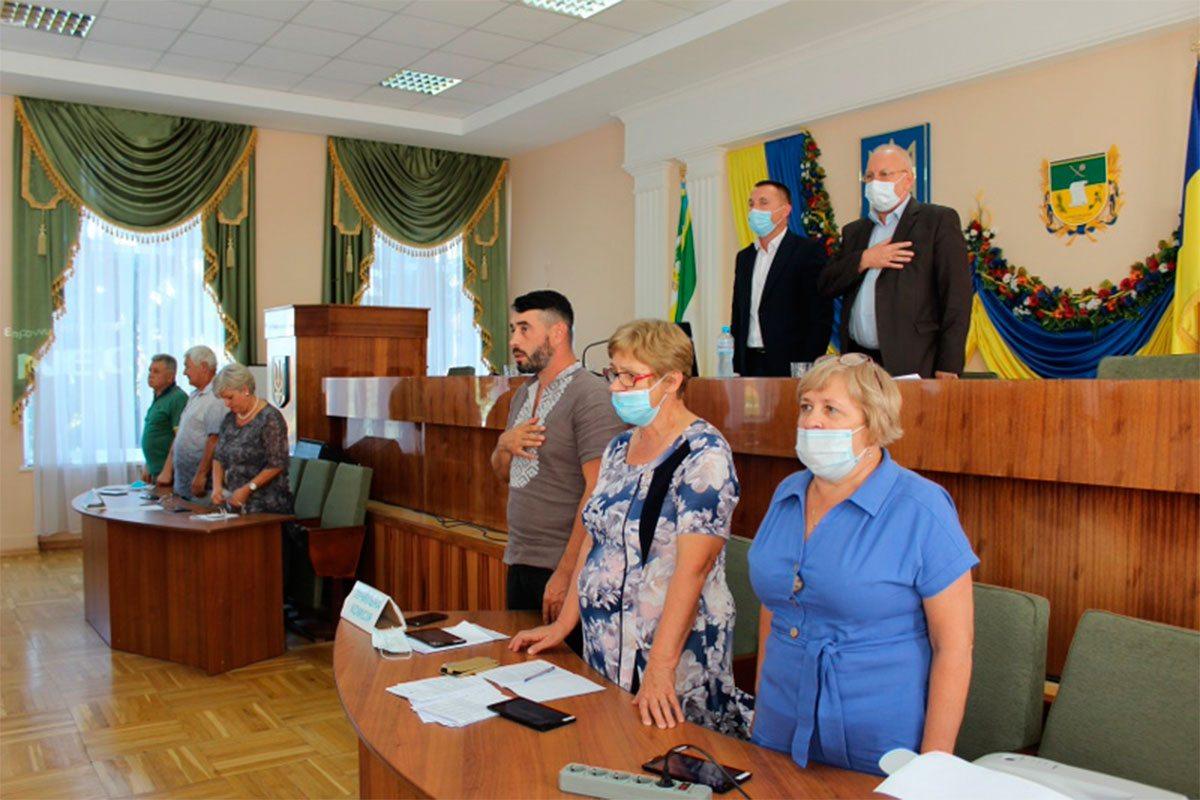 Відбулася позачергова сесія Олешківської районної ради