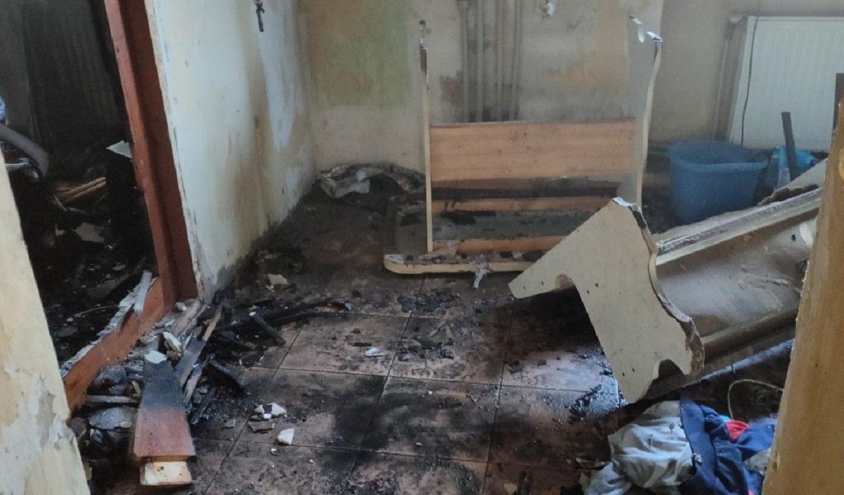 В Херсоне из-за окурка сгорела квартира