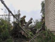 На Херсонщине спасатели продолжают ликвидировать последствия буйства стихии