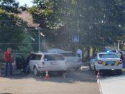 В центре Херсона произошло ДТП (фото)